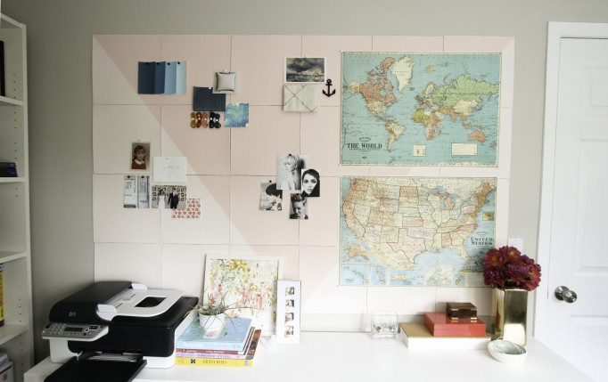Cork Board DIY via Layers and Details