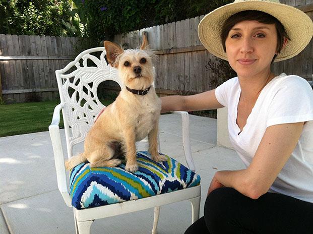 Trina Turk DIY Outdoor Patio Table Chairs