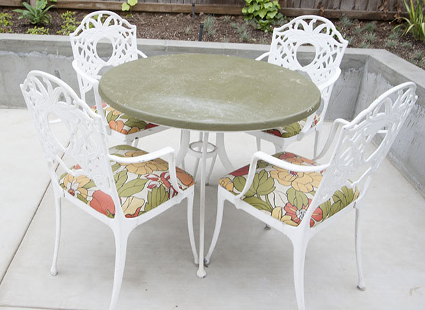 Outdoor Patio Table Chairs DIY